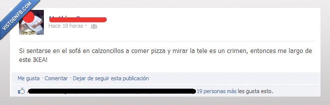 calzoncillos,crimen,IKEA,pizza