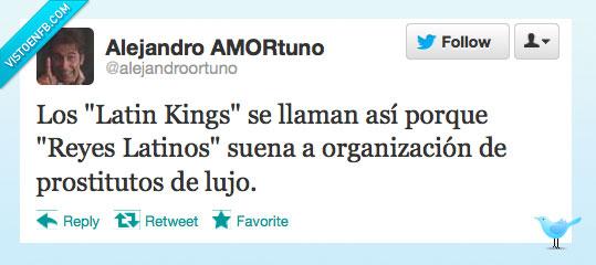 LatinKings,latinos,lujo,nombre,Prostitutos,reyes,señoritos de compañía