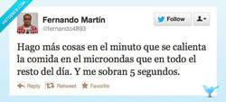 Enlace a La espera del microondas por @fernando4893
