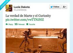 Enlace a La verdad de Marte y el Curiosity por @LuciaDakota