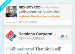 Enlace a Domino's pizza está a otro nivel