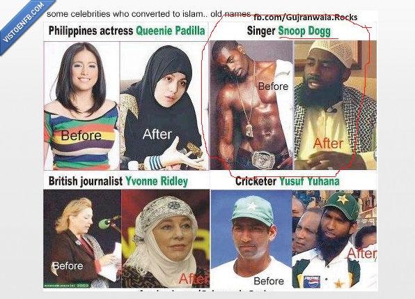 actor,actriz,error,fail,famoso,islam,rapero,snoop dogg