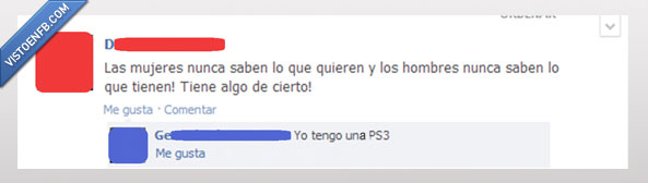 Hombres,Mujeres,Prioridades,PS3,Saber,Tener