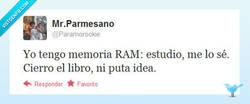 Enlace a Yo también tengo memoria RAM por @paramorookie