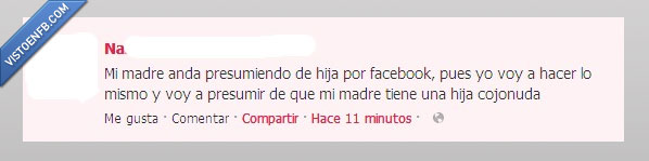 Facebook,Hija,Madre,Presumir