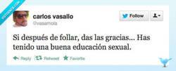 Enlace a Se nota que fue a un buen colegio por @vasamola