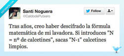 Enlace a La fórmula de la lavadora por @Caldodeputxero
