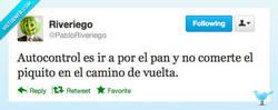 Enlace a Autocontrol máximo por @PabloRiveriego