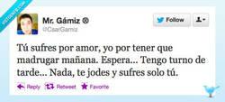 Enlace a Sufres por amor por @CsarGamiz