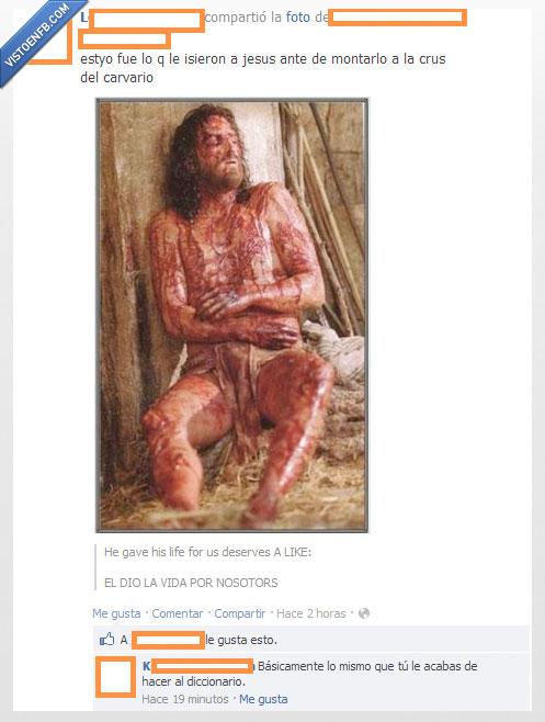 cani,diccionario,Jesús,religión,tortura