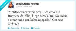 Enlace a La creación de la duquesa de Alba por @JesuCristoYusef