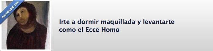 ecce homo,facebook,maquillaje,pagina