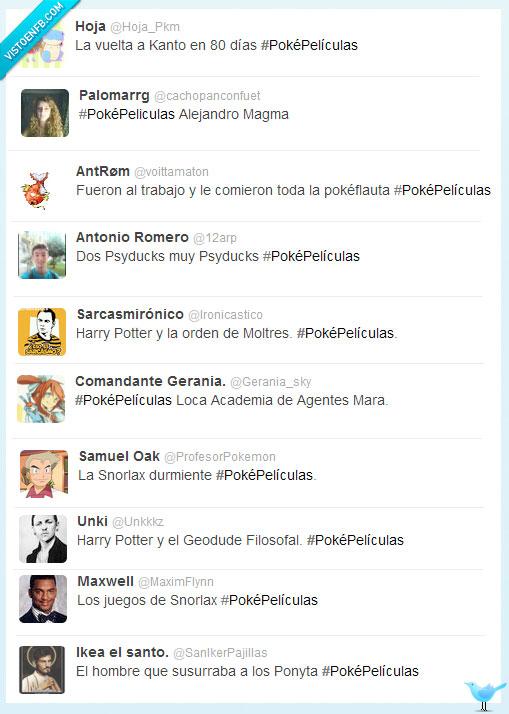 peliculas,poke,twitter