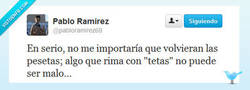 Enlace a Es como las CROQUETAS, siempre van bien por @pabloramirez69