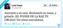 Enlace a Exorcismo cani por @Losthope8