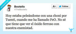 Enlace a ¡Pedazo de FeO! por @thebootello