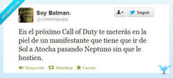 Enlace a Call of Duty: Atocha Warfare por @cometelasopa
