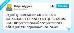 Enlace a Justicia para todos por @es_gravissim