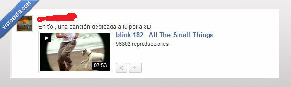 all the small things,blink 182,broma,burla,cancion,pequeño