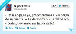 Enlace a Con el Twitter no se juega por @SuperFalete