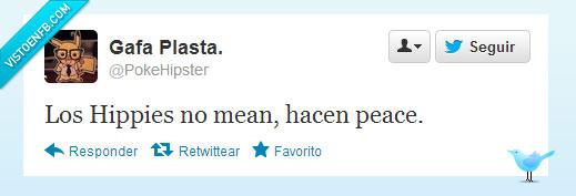 Hippies,mear,peace,pis,secreto,Twitter