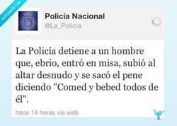 Enlace a Jesucristo 2.0 por @La_Policia