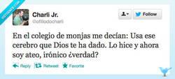 Enlace a Ironías de la vida por @ofillodocharli
