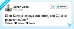 Enlace a Tiene su lógica por @sr_ciego