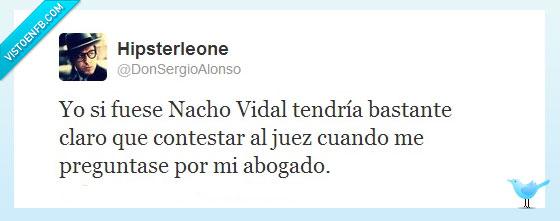 abogado,detención,juez,juicio,Nacho Vidal