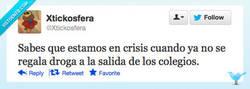 Enlace a Qué mala es la crisis por @xtickosfera