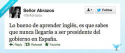 Enlace a Adiós, me voy a aprender inglés... por @SrAbrazos