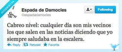 Enlace a Estoy muy cabreado por @espadadamocles