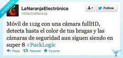 Enlace a Fuck Logic de la seguridad por @electronaranja