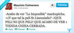 Enlace a Lo imposible por @sr_colmenero
