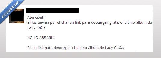 álbum,atención,chat,Lady GaGa