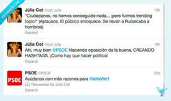 Enlace a Así es como el @PSOE hace campaña por @cot_julia
