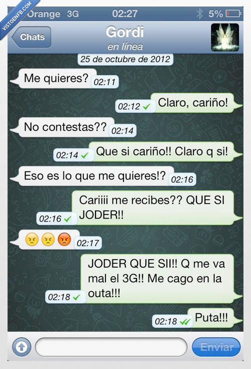 error,fail,novia,ortografia,querer,whatsapp