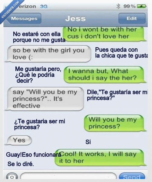 estar,friendzone,princesa,whatsapp