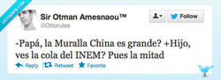 Enlace a La Muralla China por @ottorules