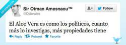 Enlace a Aloe Vera y los políticos por @ottorules