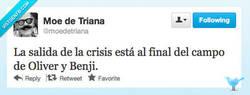 Enlace a La salida de la crisis por @moedetriana