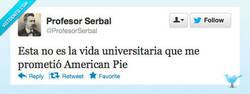 Enlace a La vida universitaria por @ProfesorSerbal