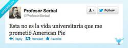 Enlace a La vida universitaria por @ProfesorSerbal