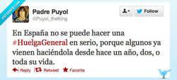Enlace a La huelga en general por @Puyol_theKing