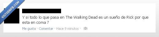 Coma,Dead,Rick,serrano,Sueño,The,twd,Walking