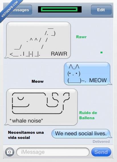 animales,Ballena,Conversacion,dibujos,dinosaurio,gato,Vida,whatsapp