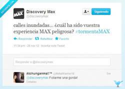 Enlace a Viviendo al límite por @discoverymax y @metalwarrior19