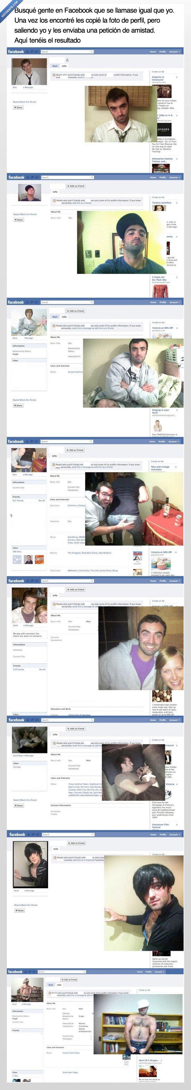 facebook,foto,imitar,misma,mismo,nombre,replica,wtf