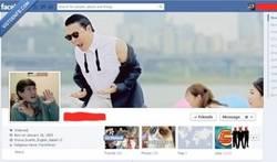 Enlace a Foto de perfil con imagen de PSY