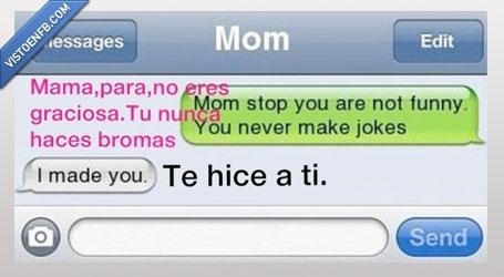 broma,divertida,graciosa,hice,hija,madre,ti,Whatsapp